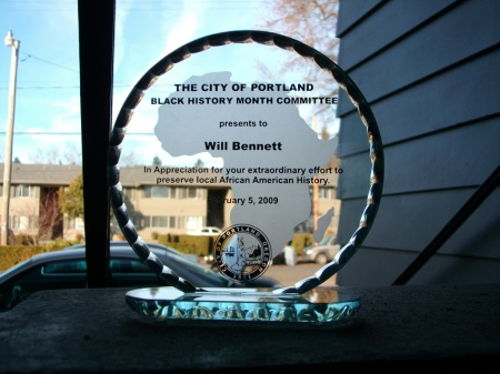 On behalf of the City of Portland Black History Month Committee