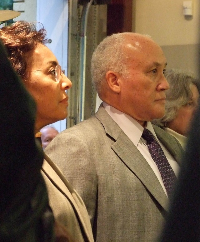 George E. Hocker & His Wife @Unveiling